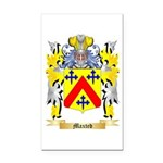 Maxted Rectangle Car Magnet