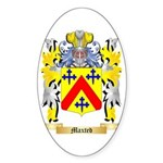 Maxted Sticker (Oval)