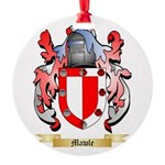 Mawle Round Ornament