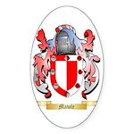 Mawle Sticker (Oval 50 pk)