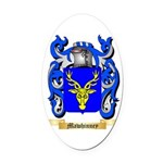 Mawhinney Oval Car Magnet