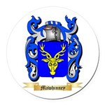 Mawhinney Round Car Magnet