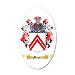 Mawer 20x12 Oval Wall Decal