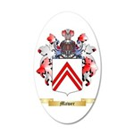 Mawer 35x21 Oval Wall Decal