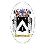 Mawdsley Sticker (Oval 50 pk)