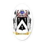 Mawdesley Oval Car Magnet