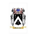 Mawdesley Sticker (Rectangle 10 pk)