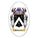 Mawdesley Sticker (Oval 10 pk)