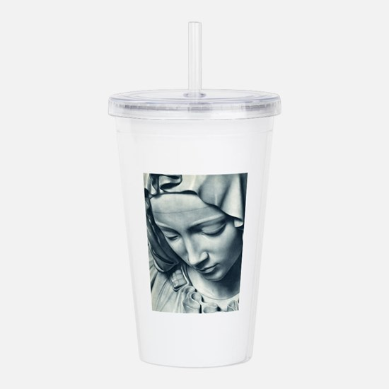 Cool Guadalupe Acrylic Double-wall Tumbler