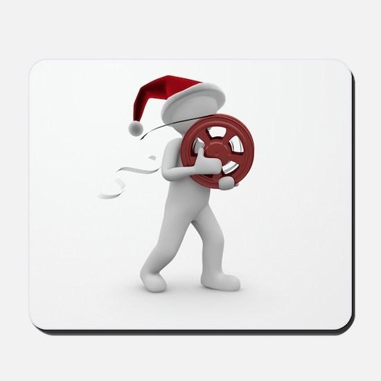 hollywood christmas Mousepad