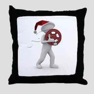 hollywood christmas Throw Pillow