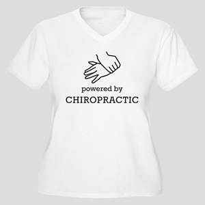 Powered By Chiropractic Plus Size T-Shirt