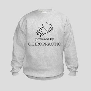 Powered By Chiropractic Sweatshirt