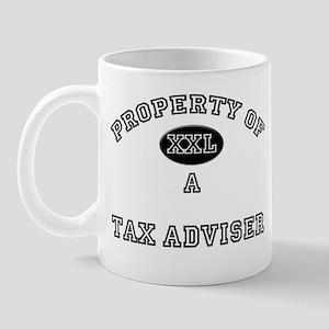 Property of a Tax Adviser Mug