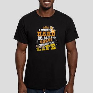 My Corgi Can Live Better Life T Shirt T-Shirt