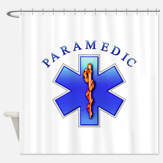 paramedic2.png Shower Curtain