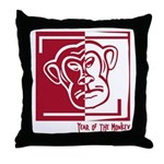 Year of the Monkey Throw Pillow