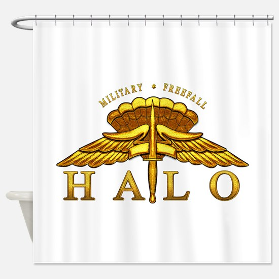 halo_2.png Shower Curtain