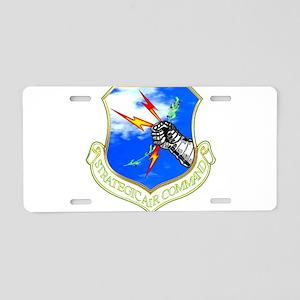 bAir_cmmd Aluminum License Plate