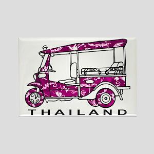 Tuk Tuk Thailand Rectangle Magnet