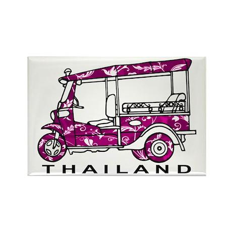 Tuk Tuk Thailand Rectangle Magnet (10 pack)
