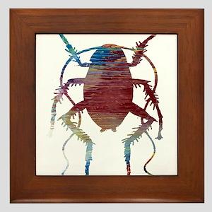Cockroach Framed Tile
