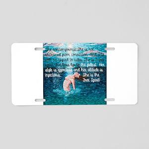 Free Spirit Aluminum License Plate