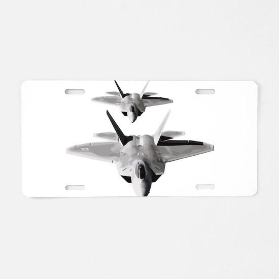 Cute Fighter Aluminum License Plate