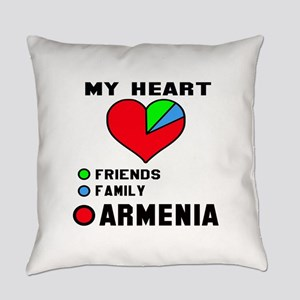My Heart Friends, Family and Armen Everyday Pillow