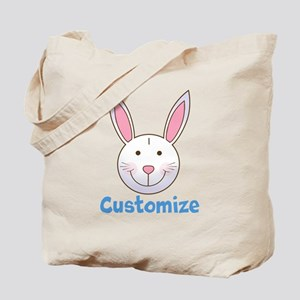 Custom Easter Bunny Tote Bag