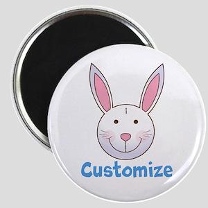 Custom Easter Bunny Magnet