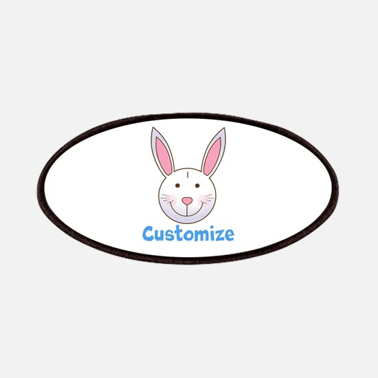 Custom Easter Bunny Patch