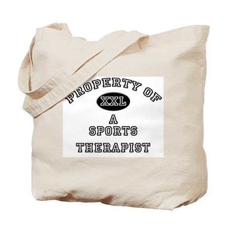 Property of a Sports Therapist Tote Bag