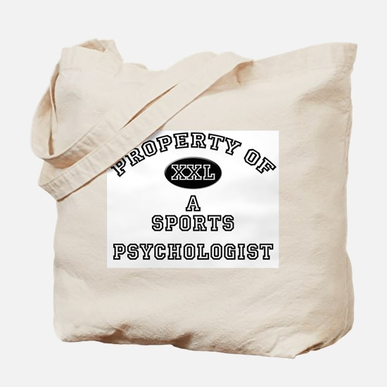 Property of a Sports Psychologist Tote Bag