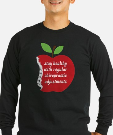 Stay Healthy With Chiropractic Long Sleeve T-Shirt