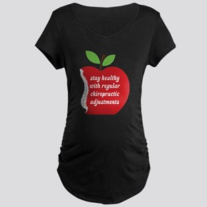 Stay Healthy With Chiropractic Maternity T-Shirt