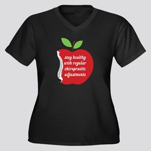 Stay Healthy With Chiropractic Plus Size T-Shirt