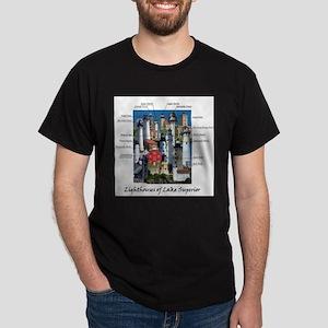 Lighthouses of Lake Superior T-Shirt