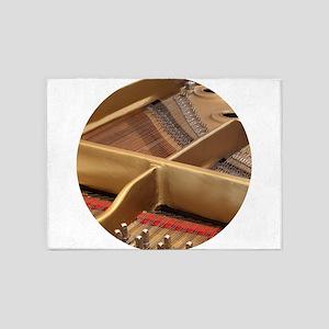 Inside a Piano 5'x7'Area Rug