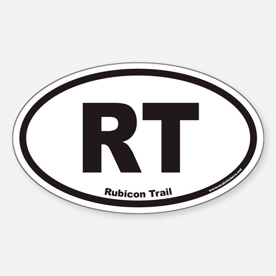 Rubicon Trail RT Euro Oval Decal