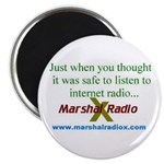 "Marshal Radio X 2.25"" Magnet (10 pack)"