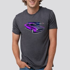 Dodge Challenger Purple Car T-Shirt