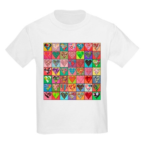 Sale: Heart Quilt Kids T-Shirt