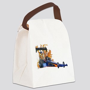 Flaming Top Fuel Canvas Lunch Bag
