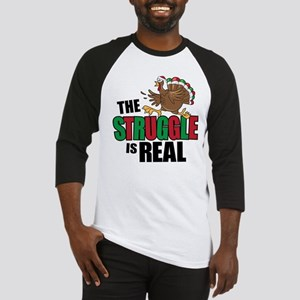 Christmas Turkey Baseball Jersey