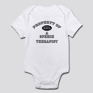 Property of a Speech Therapist Infant Bodysuit