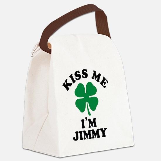Cute Jimmy Canvas Lunch Bag