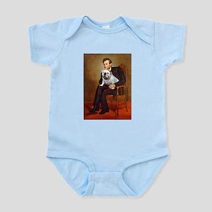Lincoln's English Bulldog Infant Bodysuit