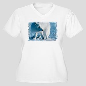 Artic Fox Women's Plus Size V-Neck T-Shirt