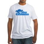 Hey Crabman Fitted T-Shirt